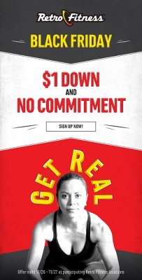 Black Friday Offer - $1 Down & No Commmitment!