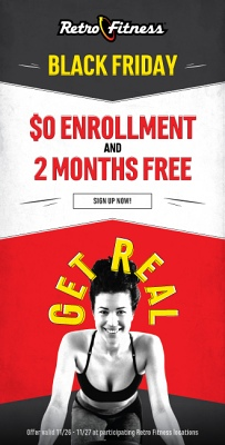 Black Friday Offer - $0 Enrollment and 2 Months Free!