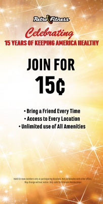 15th Anniversary Special Offer - Join for 15¢ Enrollment on Ultimate Memberships!