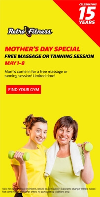 Mother's Day Special - Free Tanning Session!
