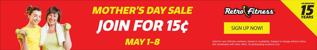 Mother's Day Special Sale - Join for 15¢