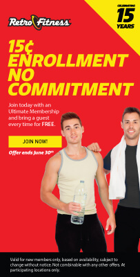 Join for 15¢ Enrollment - No Commitment on Ultimate Memberships!