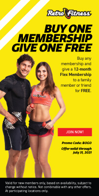 Buy One Membership - Give One Free!